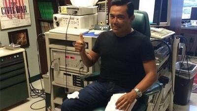 Raul Brindis se someterá a operación en las cuerdas vocales
