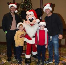 Navidad en familia para Ricky Martin y su futuro esposo Jwan Yosef
