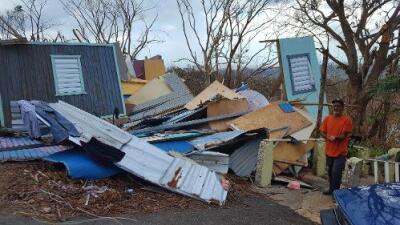 Aislados y sin ayuda: en las montañas de Puerto Rico la asistencia tras el huracán María tarda en llegar