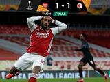 Lacazatte y Slavia Praga arruinan superioridad del Arsenal en Europa League