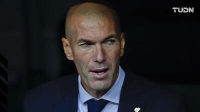 """Zidane: """"Me molesta lo que están diciendo, no me gusta"""""""