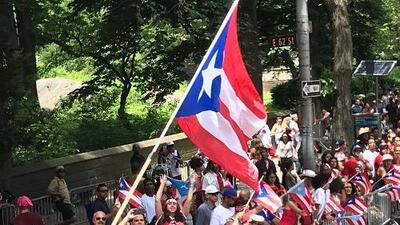Cientos de puertorriqueños llegan a Manhattan para el Desfile Nacional del 2019