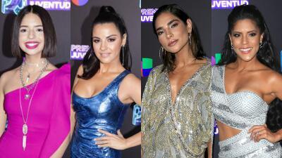 Fotos llenas de detalles: así fueron vestidos todos los famosos a Premios Juventud