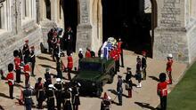 Estas son las 30 personas que asisten al funeral del príncipe Felipe