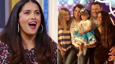 Salma Hayek hizo gala de su humor latino y Michelle Tacher tuvo su fiesta de princesas