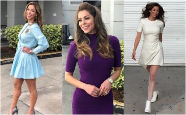 Divertida y llena de color, así es la moda de Lourdes Stephen. ¿Qué estilo te gusta más?