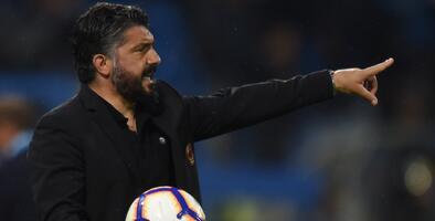 OFICIAL: Gattuso, nuevo técnico de Chucky Lozano en Napoli