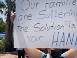 Cubanos protestan en Miami: piden a Biden la reapertura de la embajada en la isla