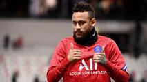 Neymar se recupera de una lesión y está listo para jugar con el PSG