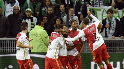 Mónaco salva un punto ante Saint-Etienne con el primer gol de Vagner Love