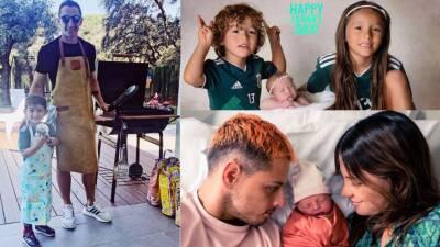 Así celebraron los futbolistas mexicanos el día del padre en redes sociales