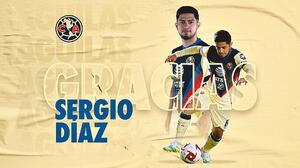 Sergio Díaz no continuará con el América la próxima temporada