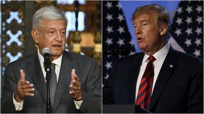 López Obrador envía una carta a Donald Trump durante la reunión con la comitiva de EEUU
