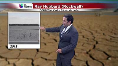 El tiempo: la sequía en fotos y la tormenta Carlos