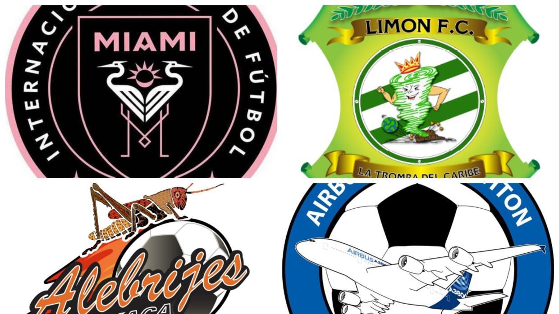 Entra El Del Inter Miami Los Escudos Más Raros Del Mundo Del Fútbol Deportes Mls Tudn Univision