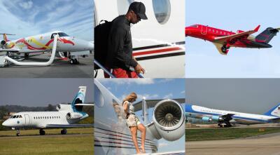 Conoce los jets privados más famosos y sus dueños