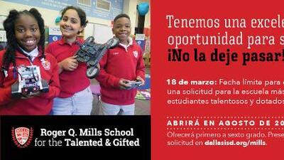 Dallas ISD abrirá 2 escuelas nuevas