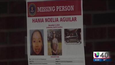 La comunidad está de luto luego del hallazgo del cuerpo de Hania Aguilar