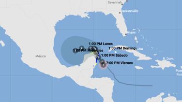 En vivo: sigue la trayectoria actualizada de la tormenta tropical Gamma