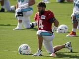 Ron Rivera sorprende con la elección de su quarterback titular