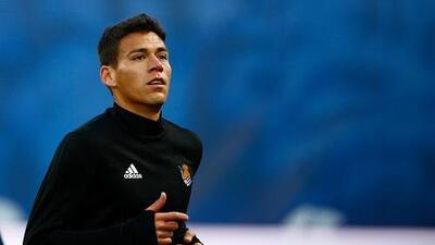 Héctor Moreno, fuera de la convocatoria de la Real Sociedad