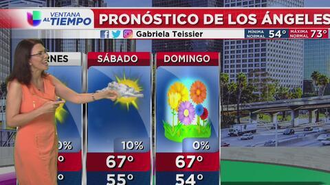 Condiciones secas para esta tarde de viernes en el sur de California