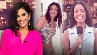 Así fue la primera vez de Karla Martínez en televisión: mira cómo ha vivido más de 20 años de carrera