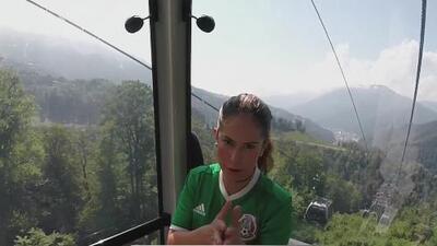 El Diario de Ana Caty llegó a lo más alto de Sochi, visitando la estación de Roza Jútor
