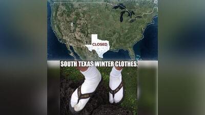 #AyDiosFrío18, la etiqueta que demuestra el humor de los texanos ante un frente invernal