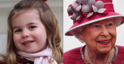La princesa Charlotte es una copia de la reina Isabel (y estas fotos lo demuestran)