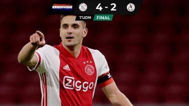 El Ajax llega a 10 victorias consecutivas; Edson dio asistencia
