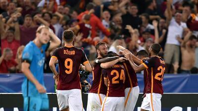 Roma 1-1 Barcelona: Florenzi le arrebata un punto al Barça con un bombazo impresionante