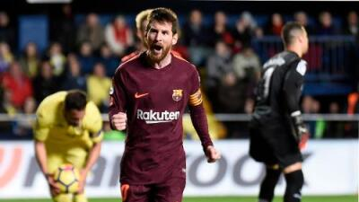 Suárez y Messi le dan victoria al Barcelona ante Villarreal
