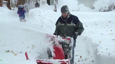 Las fuertes nevadas azotan a Estados Unidos