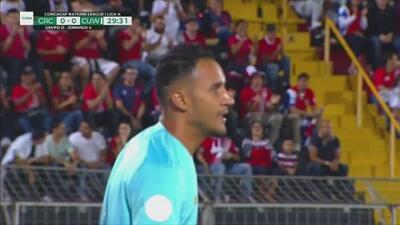 Keylor Navas salva a Costa Rica de ir perdiendo ante Curazao