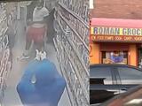 Hombre armado mata a otro en el interior de una bodega y todo queda captado en video