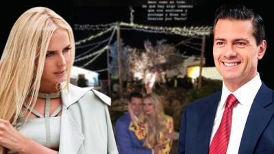 """Tania Ruiz da """"gracias a Dios"""" por encontrar a Enrique Peña Nieto: la modelo escribe su mensaje más romántico"""