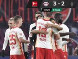 El Leipzig cura las heridas y vence al Borussia Mönchengladbach