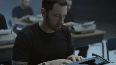 Eminem debuts 'Walk On Water' music video