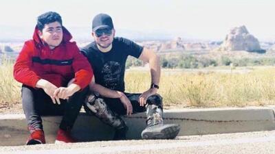A dos meses de la muerte de Jorge Valenzuela, su hermano le canta y prueba suerte en la música