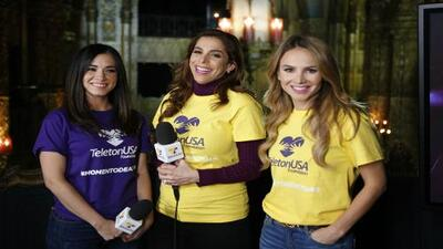 Es #MomentodeActuar, estrellas de Univision no paran en el banco telefónico