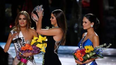 """La reacción de Trump al error en Miss Universo: """"Yo las haría co-ganadoras"""""""