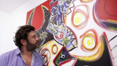"""Jet set"" mexicana se rinde al artista español de moda en Hollywood"