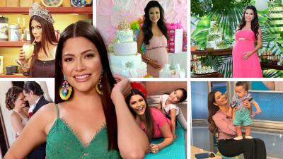 Una corona, una boda y dos embarazos: las fotos de Ana Patricia y su vida ante las cámaras