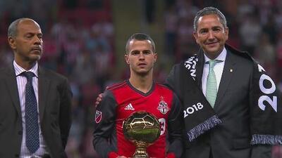Jonathan Osorio se llevó el Botín de Oro y Sebastián Giovinco el Balón de Oro