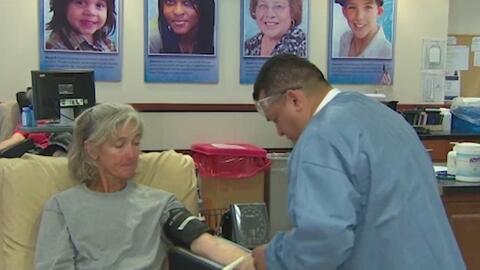 Banco de sangre de San Antonio solicita donadores urgentemente