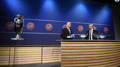 UEFA revela composición de bombos para la Eurocopa 2016