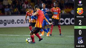 Herediano cumple en casa y vence 2-0 a Árabe Unido con doblete de Yendrick Ruiz