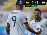 Argentina vence a Bolivia en la segunda fecha de las Eliminatorias de la Conmebol