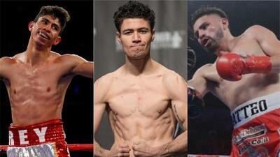 Vargas, Ruiz y Ramírez: tres protagonistas del ring en este fin de semana